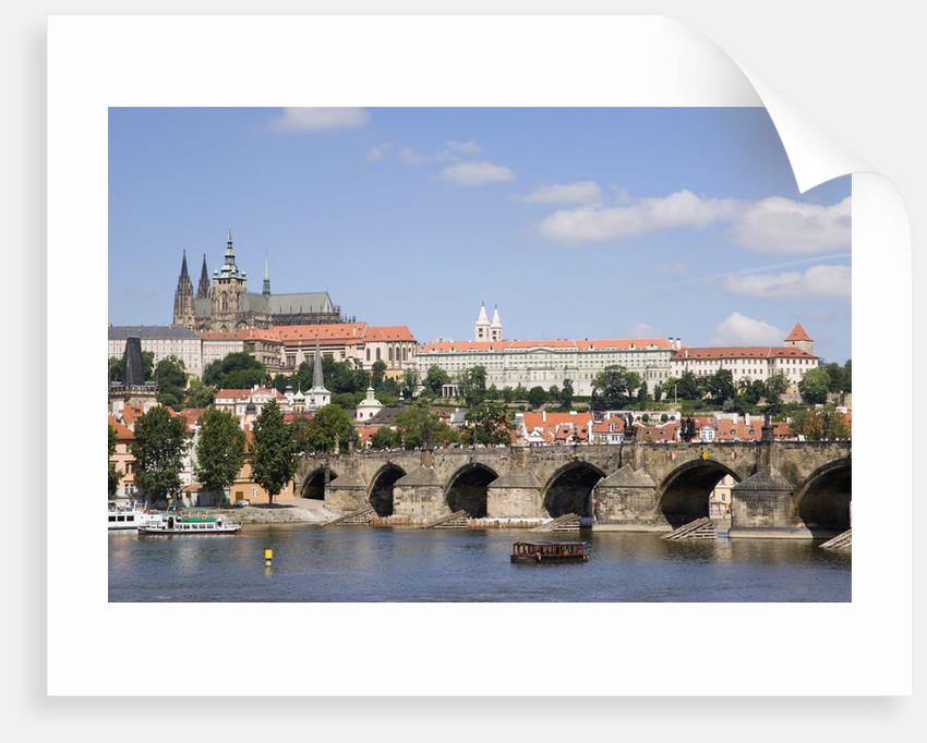 The Charles Bridge and Vltava River by Corbis