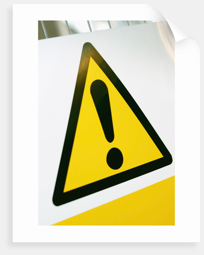Warning Sign by Corbis