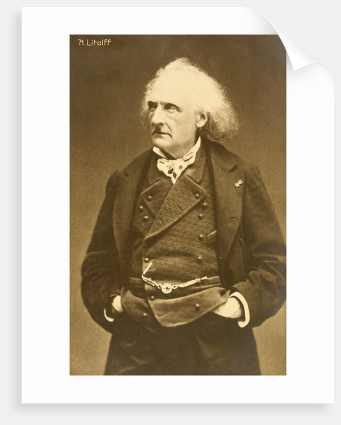 Composer Henry Charles Litolff by Corbis