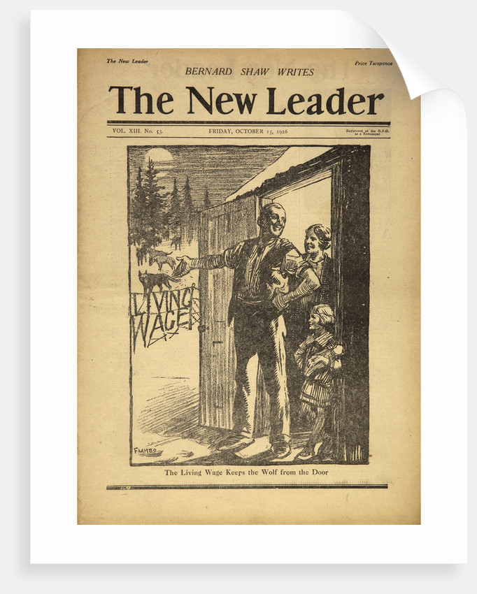 Cover Illustration of The New Leader by Corbis