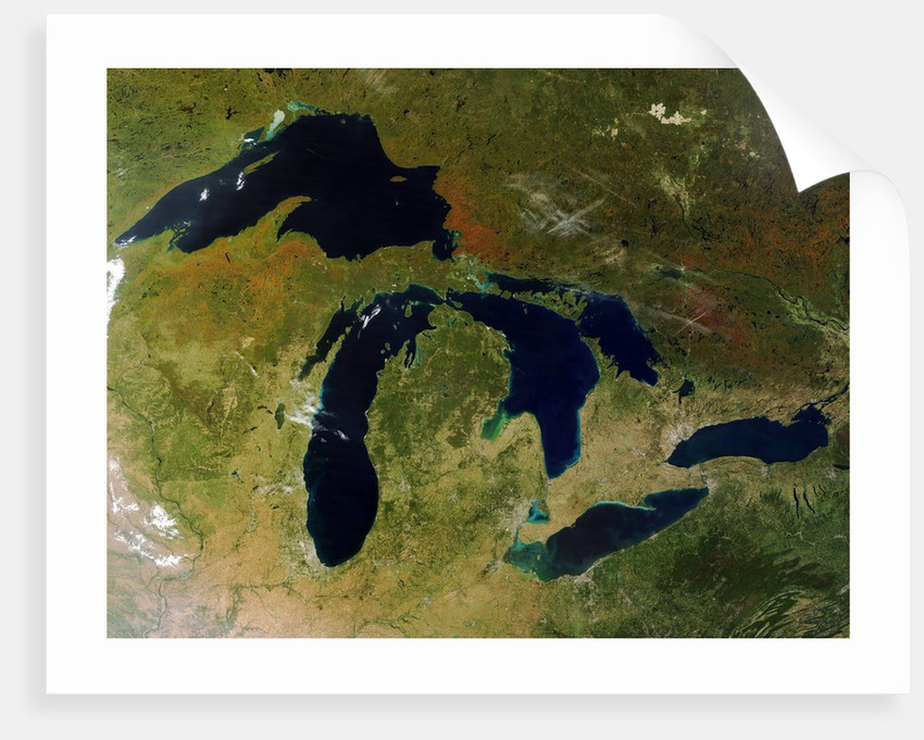 Great Lakes in North America by Corbis