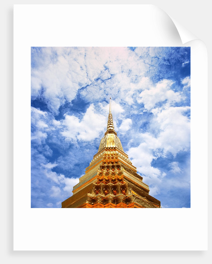 Detail of Wat Phra Kaeo at Grand Palace by Corbis