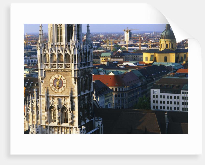 Town Hall Steeple in Munich by Corbis