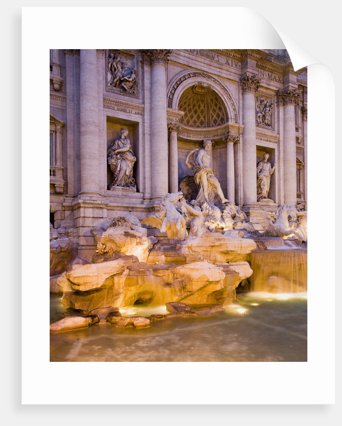 Trevi Fountain by Corbis