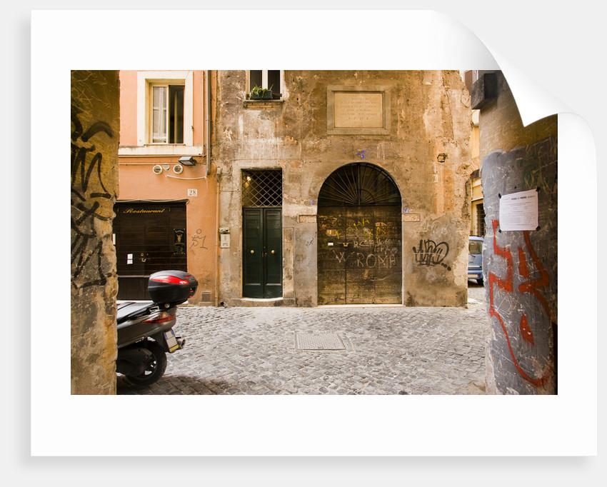 Cappellari Street near Campo dei Fiori. by Corbis