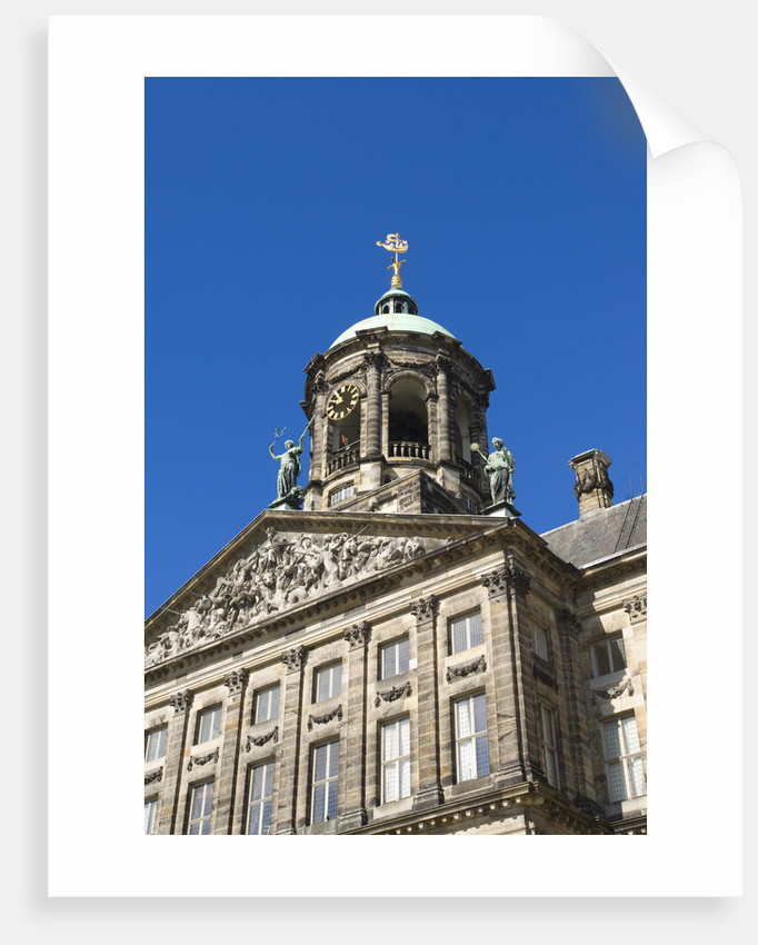 Amsterdam's Royal Palace by Corbis