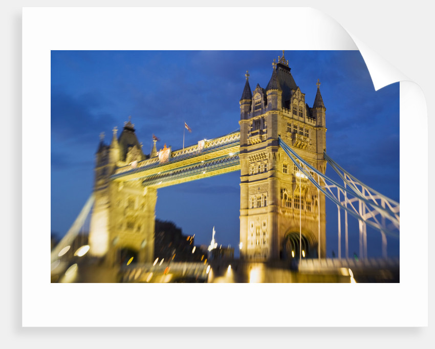 The Tower Bridge by Corbis