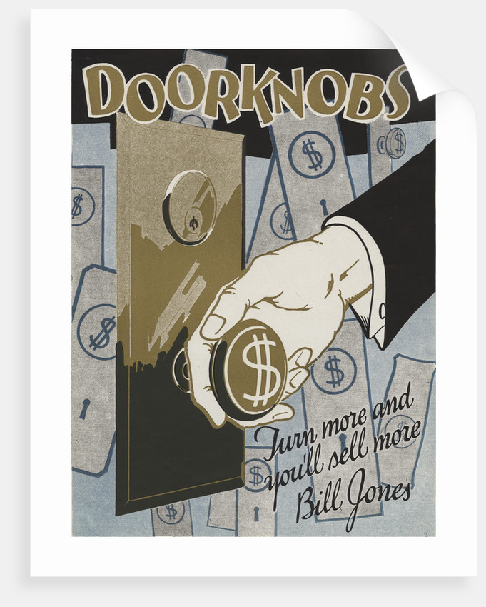 Doorknobs Motivational Poster by Corbis