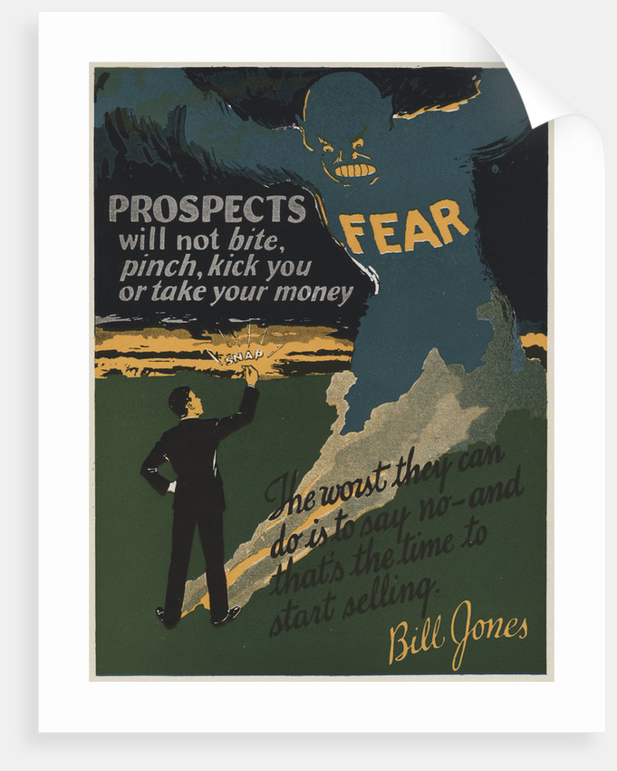 Prospects Motivational Poster by Corbis