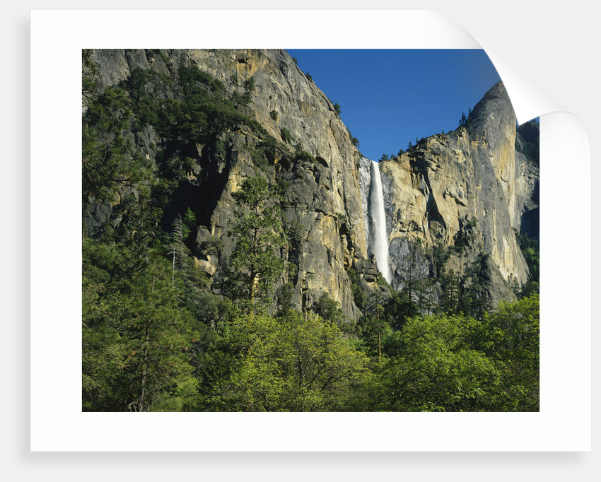 Bridalvail Falls in Yosemite National Park by Corbis