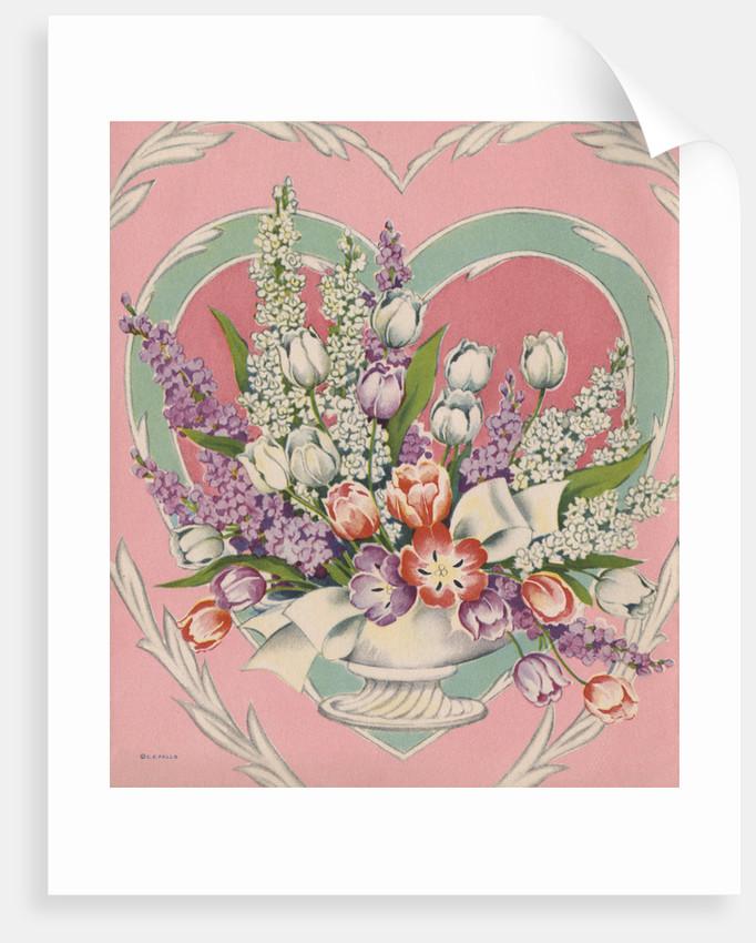 Illustration of Flower Arrangement by Corbis