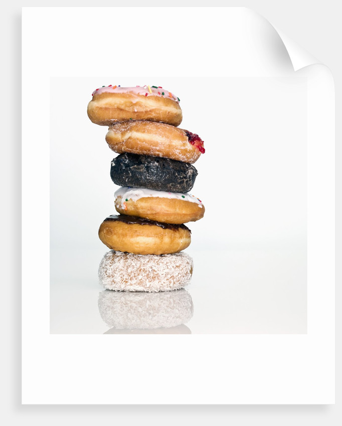 Stack of Donuts by Corbis