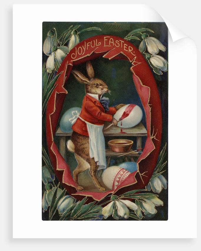 Joyful Easter Postcard by Corbis