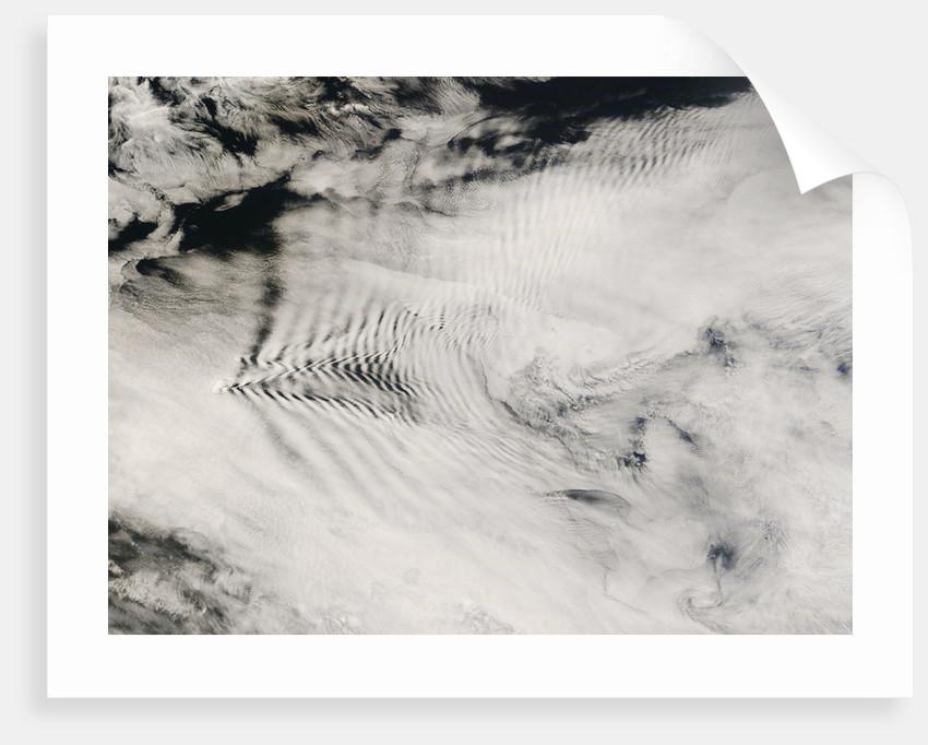 Low Earth Orbit View of Clouds over Indian Ocean by Corbis