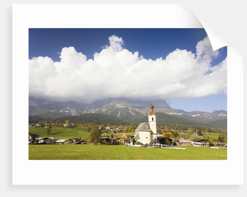 Church in Mountain Village by Corbis