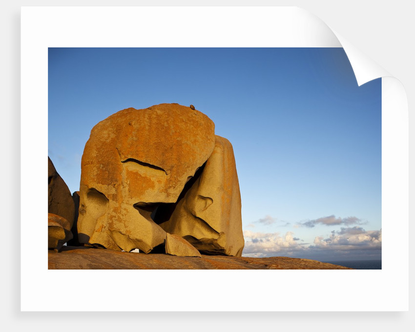 Remarkable Rocks formation in Flinders Chase National Park by Corbis