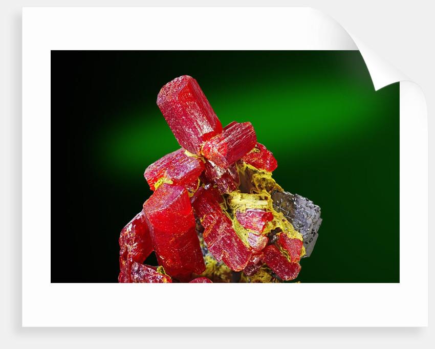Red Realgar by Corbis