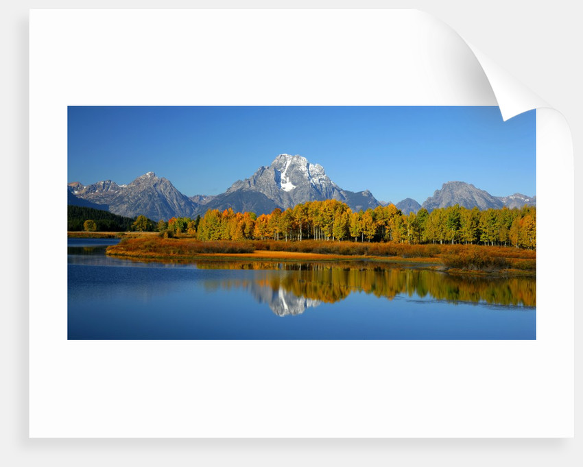 Oxbow Bend in Grand Teton National Park by Corbis