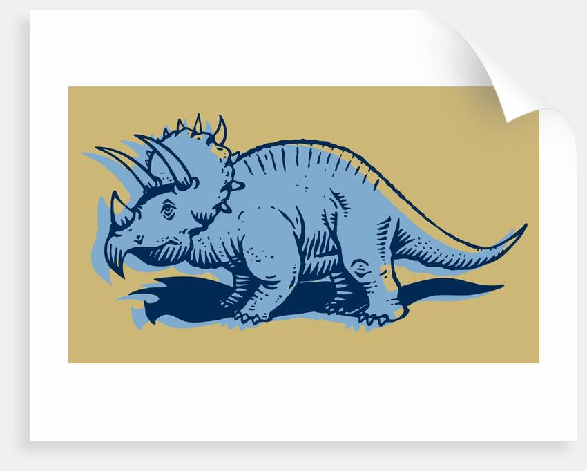 Stegosaurus by Corbis