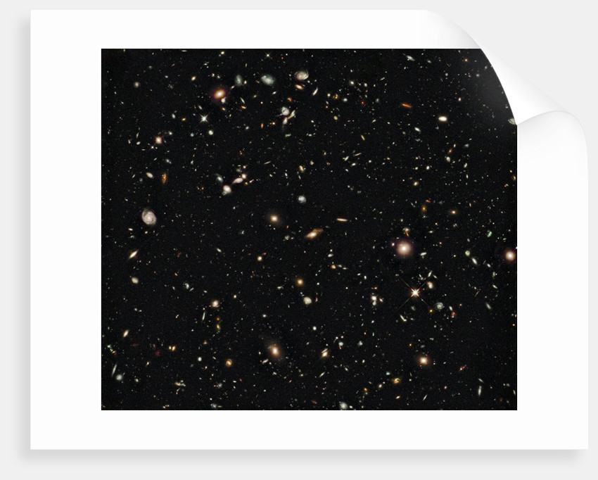 New galaxies seen with the Hubble Space Telescope Wide Field Camera by Corbis