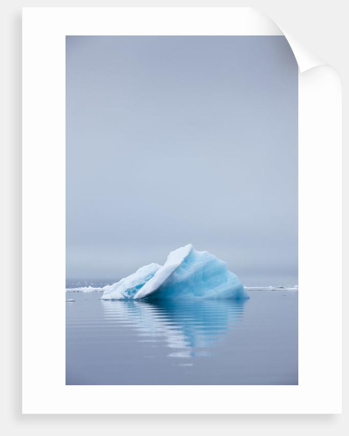 Iceberg, Svalbard, Norway by Corbis