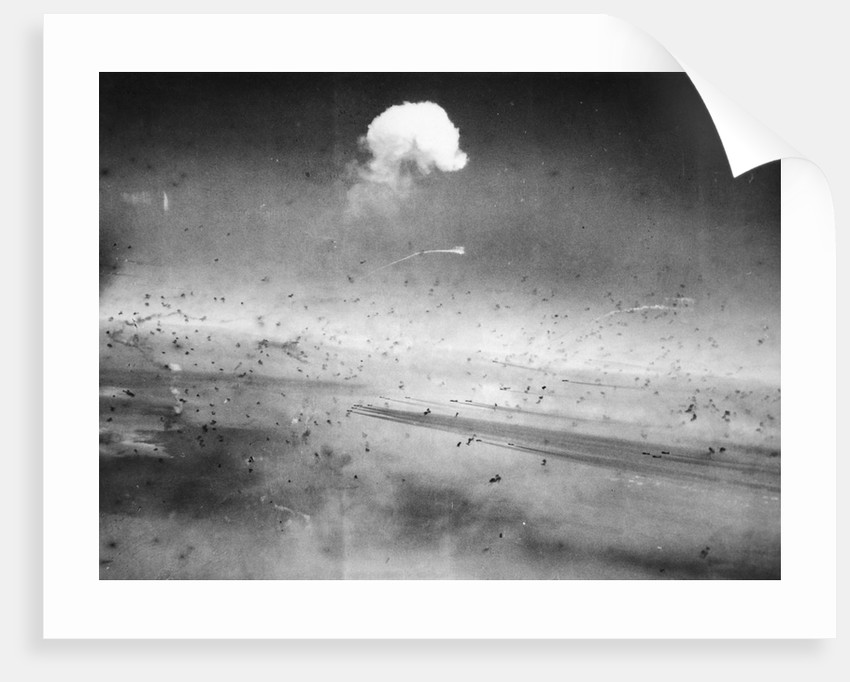 Curtain of Flak by Corbis