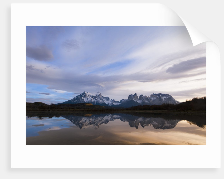 Lago Pehoe, Torres del Paine National Park, Patagonia, Chile. by Corbis