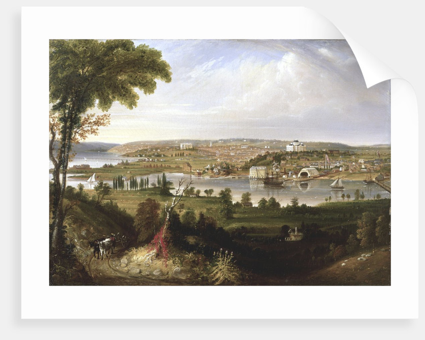 City of Washington, DC from Beyond the Navy Yard by George Cooke