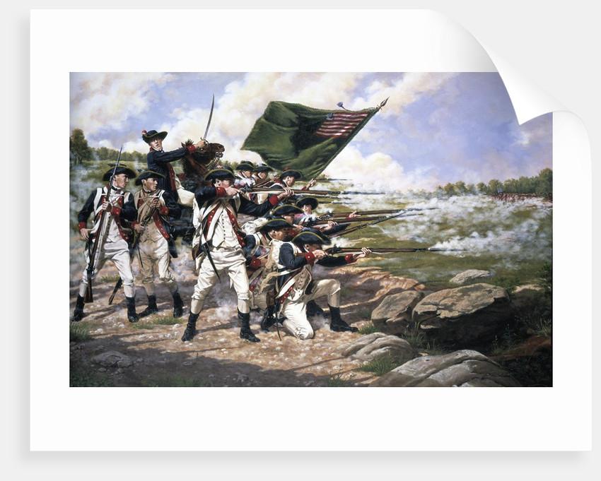 Battle of Long Island by Corbis