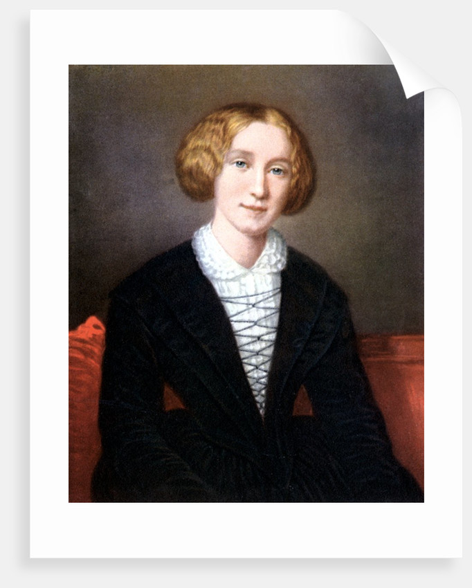 George Eliot as a young woman by Corbis