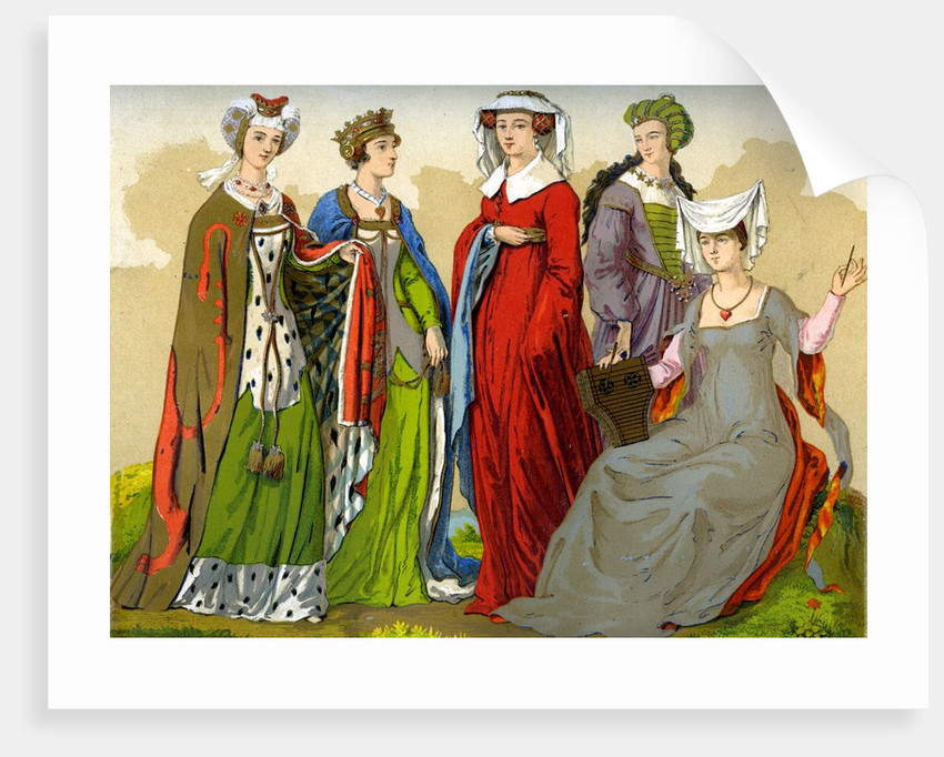 English noblewomen in the 15th-16th century by Corbis