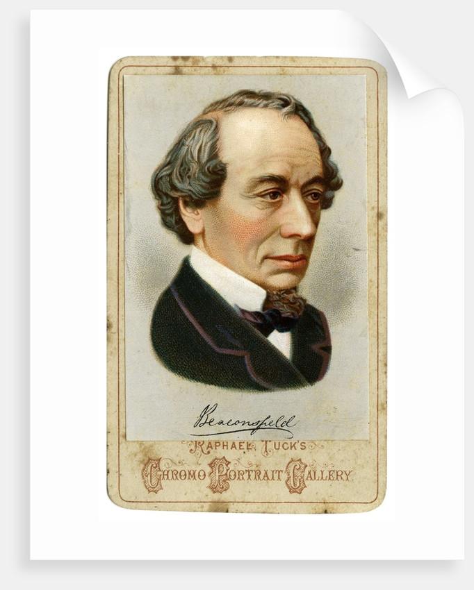 Benjamin Disraeli by Corbis