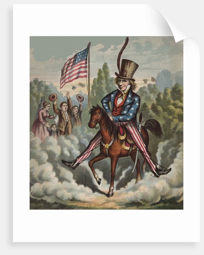 Thank you Uncle Sam! by Corbis