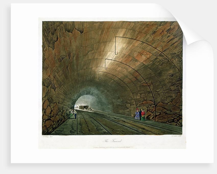 Railway tunnel by Corbis