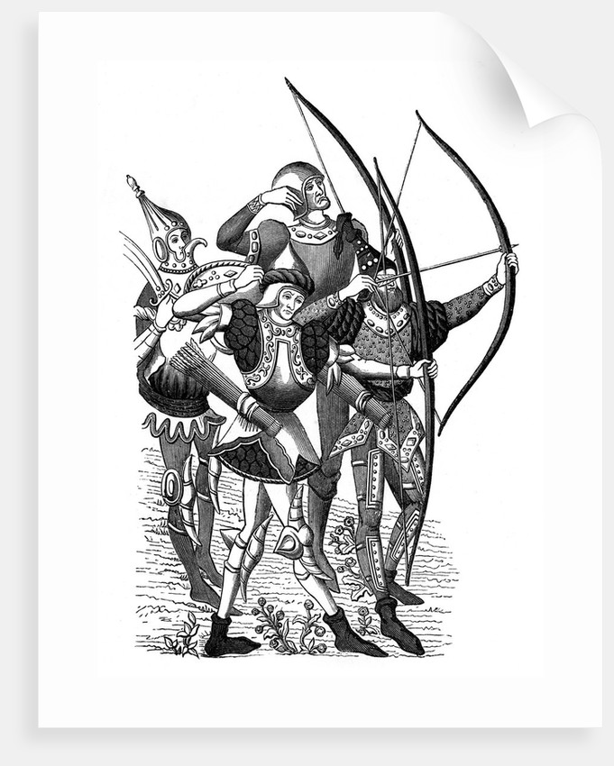 Frankish archers by Corbis