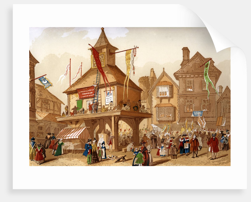 The Shakespeare Jubilee at Stratford upon Avon by Corbis