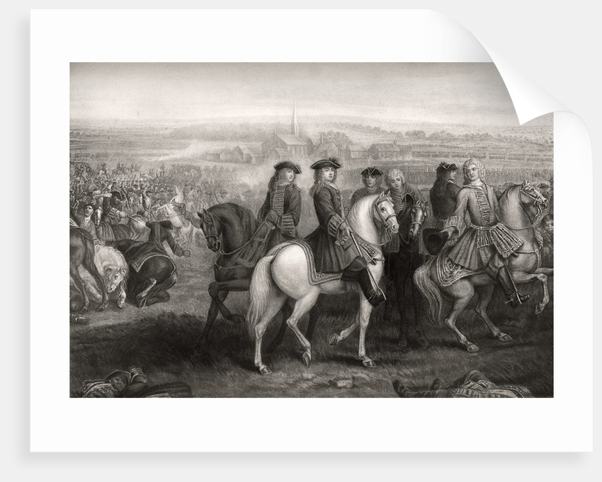 The Battle of Blenheim by Corbis
