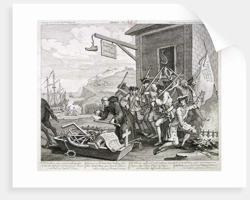 The Invasion: France by William Hogarth