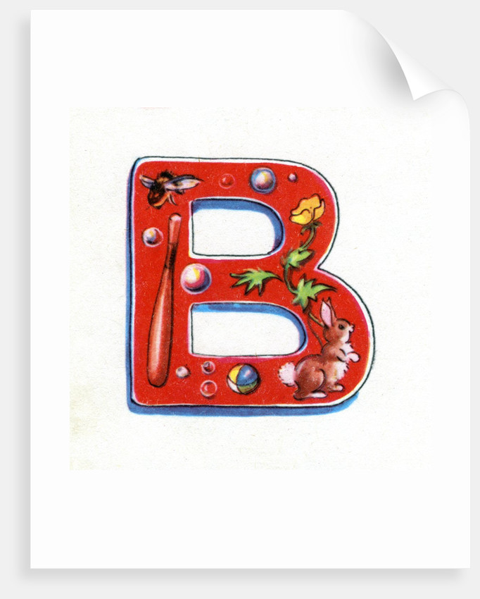 Letter B by Corbis