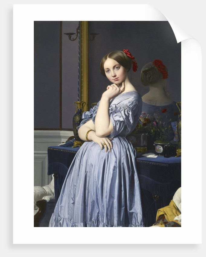 Comtesse d'Haussonville by Jean-Auguste-Dominique Ingres