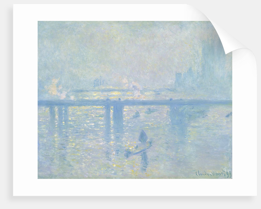 Charing Cross Bridge, London by Claude Monet