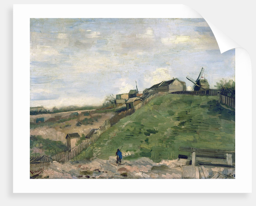 Montmartre Hill With Stone Quarry Posters Amp Prints By