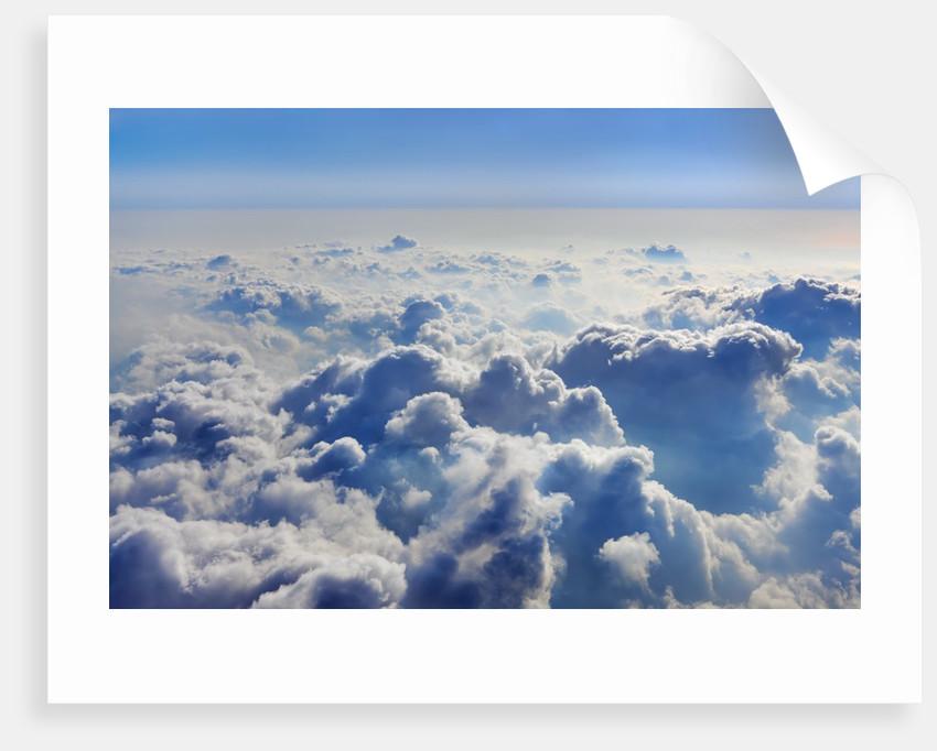Cloudscape seen from Santa Maria volcano by Corbis
