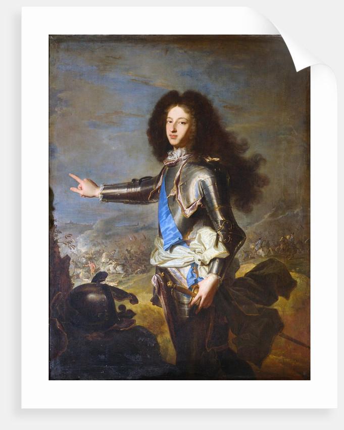 Louis de France, Duke of Burgundy by Hyacinthe Rigaud