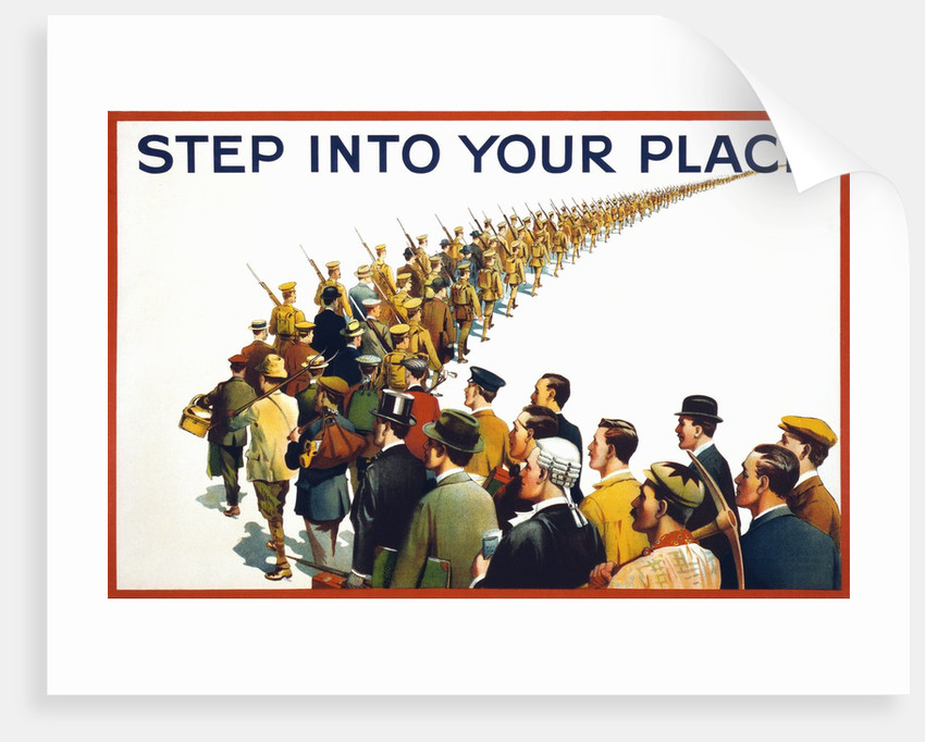 step into your place poster posters prints by corbis