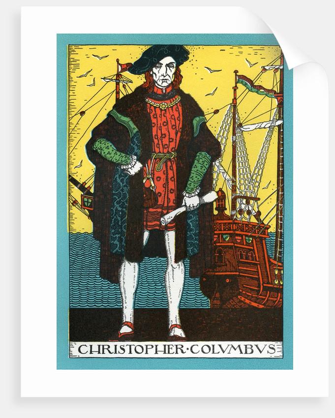 Christopher Columbus by Corbis