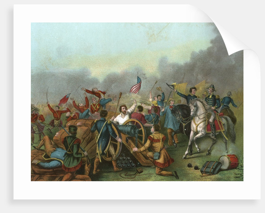 Andrew Jackson at the Battle of New Orleans. by Corbis