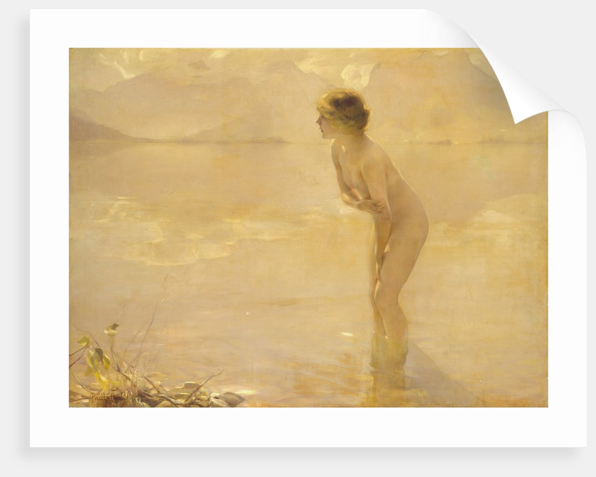 September Morn by Paul Chabas