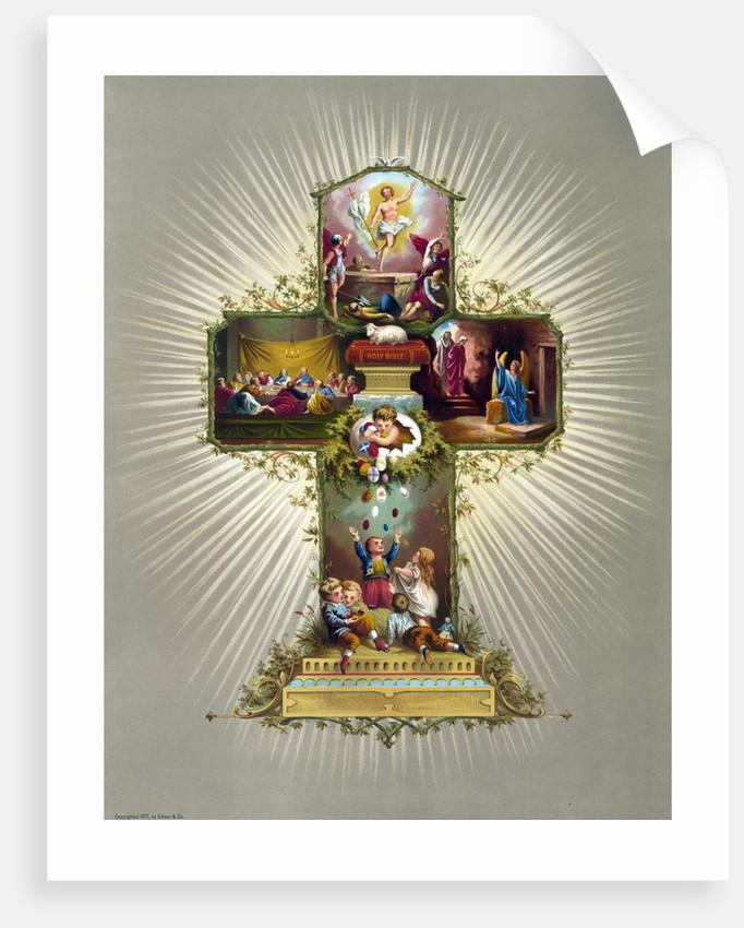 Easter Cross by Corbis