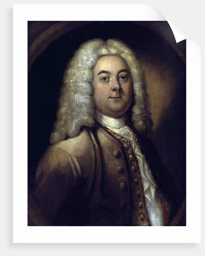 George Friederich Handel by Corbis